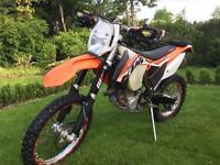KTM 450 exc 2014