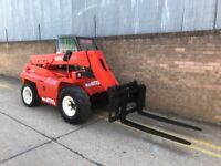 Manitou buggiscopic compact telehandler/ forklift/ 4x4