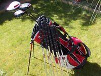 Set of Ben Sayers Irons ,Woods , plus Bag