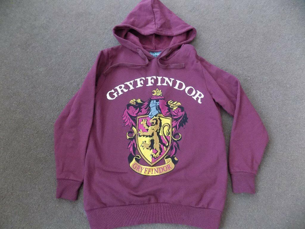 bb75aab5cf5 Ladies Girls Gryffindor Hoodie - Size 10  Harry Potter