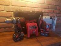 Milwaukee 18v combi drill and jig saw