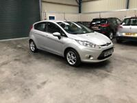 2013 Ford Fiesta zetec 1.2cc 5 dr 1 owner fsh excellent condition guaranteed cheapest in country