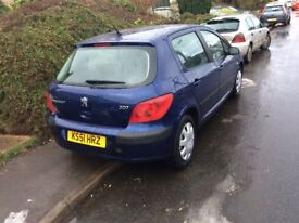 Peugeot 307 1.6 16 VLX Automatic Only 16,000 low genuine miles