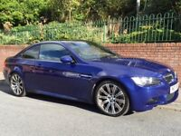 BMW M3 4.0 V8 420 bhp 2008 2 owners only 48000 fsh mot till February 2018 mint car fully serviced