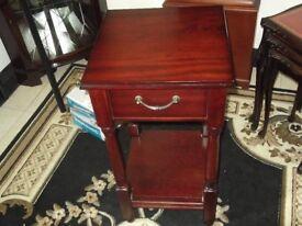 lovely mahogany hall table