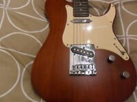 yamaha pacifica 102s telecaster with soft case