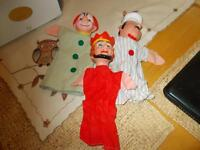 Vintage puppets