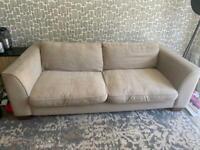 FREE large beige sofa