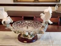 Lovebirds fruit bowl