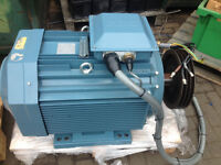 3x brook crompton motors and 1 abb,total value over £20000- for sale.all in an excellent condition