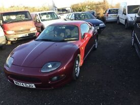 Mitsubishi FTO AUTOMATIC 24 v twincam sports coupe in gcondition good driver sounds awesome 1yrs mot