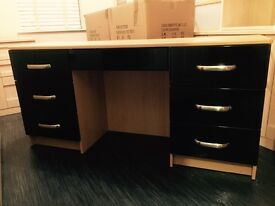 Large starplan oak desk