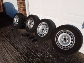 VW wheels and tyres 195/65 R15