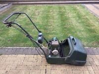 ATCO Cylinder Petrol Lawn Mower. Self Propelled with Grass Box