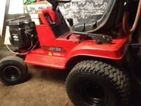 Ride on lawn mower project