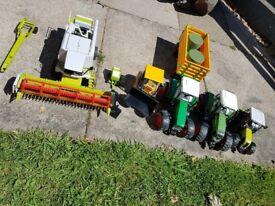 Toy Tractor & Combine Harvestor Bundle