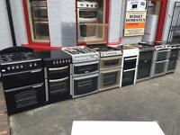 GAS AND ELECTRIC COOKERS FROM £99 WITH A 6 MONTH WARRANTY
