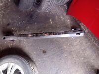 corsa d rear bumper iron