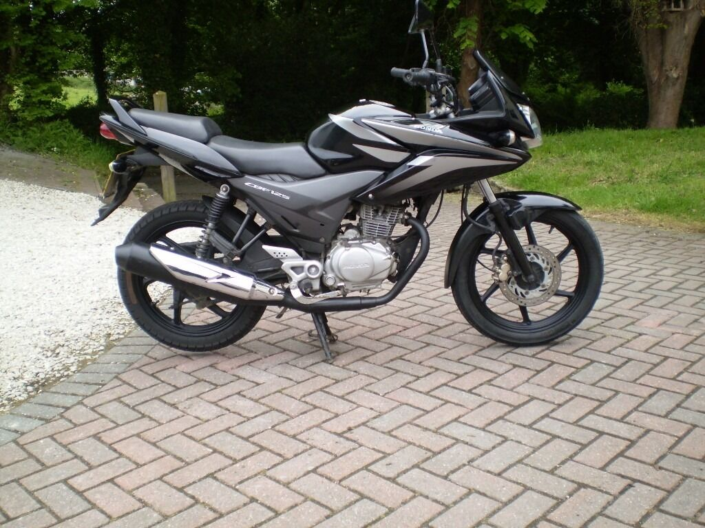 honda cbf 125 2012 fuel injection in st austell. Black Bedroom Furniture Sets. Home Design Ideas