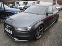 Audi A4 2.0 TDI 143 BLACK EDITION 4dr S LINE + FULL SERVICE HISTORY (grey) 2012