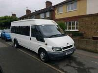 2003 Ford Transit 17 seater minibus in immaculate condition
