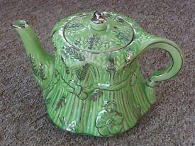 Teapot - Ornamental corn sheaf - approx 1940s.