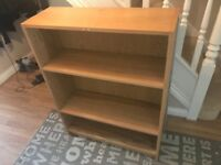 Billy/morliden bookcase in oak with doors
