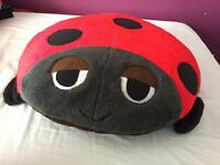 Ladybird cushioned seat/chair