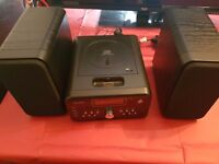 Bush mini cd ipod stereo system