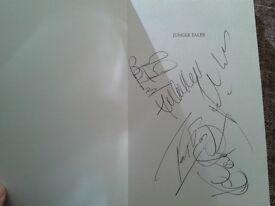 Celtic HAND SIGNED book Jungle Tales. pb