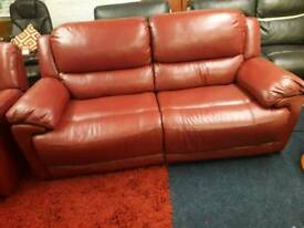 BRAND NEW *LAZ BOY ELECTRIC RECLINER SOFA PLUS ELECTRIC RECLINER CHAIR *DEEP RED*