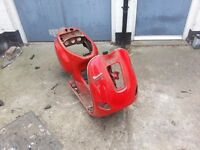 vespa piaggio et 125cc frame replacement part