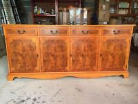 SUPERB YEW WOOD SIDEBOARD IN GREAT CONDITION