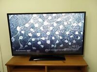 Digihome 42 inch full HD LCD TV with Freeview. Just over 7 months old. As new with box