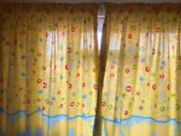 In the night garden curtains