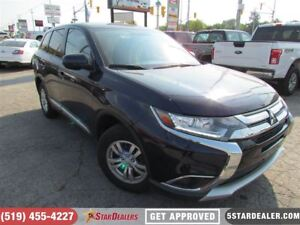 2017 Mitsubishi Outlander ES | AWD | ONE OWNER | CAM | HEATED SE