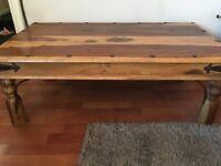 Tacket Solid Wood Coffee Table
