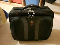 Swiss Gear Rolling Tote Business Overnight Bag