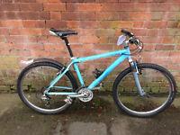 Blue mountain bike (Glow in the dark!)