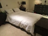 DOUBLE BED IKEA WITH 4 DRAWERS And MATRESSE