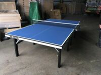 Cornilleau Competition 610 ITTF Indoor Table Tennis Table *ASSEMBLED* (mint condition)