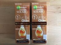 2 x Ambre Solaire 1 Week Glow Bronzer - £6