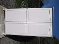 Shabby Chic Double Wardrobe