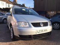 Volkswagen Touran 1.9 TDI SE 5dr (5 Seats)£3,495 cambelt&waterpump replaced