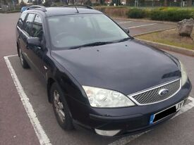 Ford Mondeo 2.0 tdci Estate 2004 -72,000 miles.Offers £500+Needs Actuator(£100)fitting