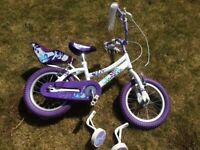 "Raleigh songbird bike 14"" wheels"