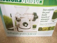 Wheatgrass Juicer £15