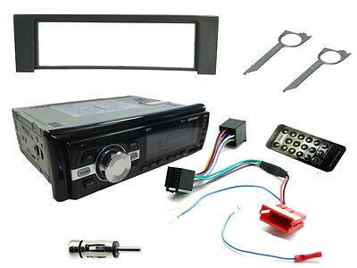 AUDI A4 00-06. Car Stereo Head Unit Kit. FM Radio Bluetooth, USB MP3, Fascia ISO