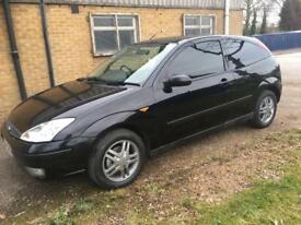 54 2004 Ford Focus 1.6 EDGE 3 DOORS IN BLACK
