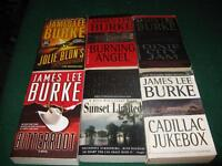 James Lee Burke books $1 each or $5 for the lot